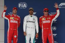 F1 United States GP - Starting Grid