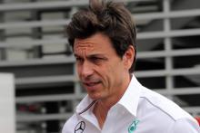 Wolff injured knee during Mercedes F1 celebrations