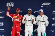 F1 Brazilian GP - Starting Grid