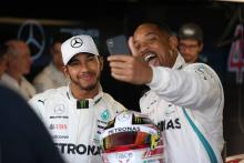 Hamilton: Unusual preparation with Will Smith, cautious on tyre plan