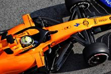 Norris on top as McLaren investigates second track stop