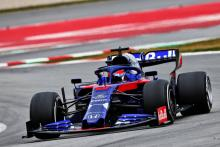 Kvyat tops third day of F1 pre-season testing