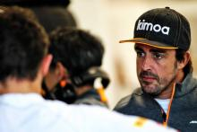 Alonso takes up test driver role as McLaren ambassador