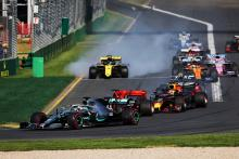 Ricciardo drained as Renault debut wrecked by gutter clash
