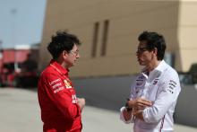 Mercedes must continue applying pressure on Ferrari – Wolff
