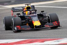 Verstappen beats Schumacher on F1 test debut