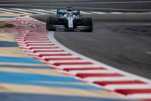 Surprise rain curtails Mercedes test for Hamilton