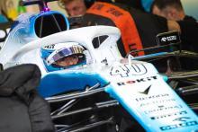 Latifi back in Williams F1 cockpit for French GP FP1 run