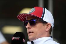 Raikkonen excluded from Azerbaijan GP qualifying