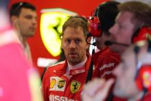 "Vettel concedes confidence ""not yet there"" with Ferrari car"