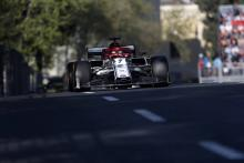 Raikkonen explains front wing issue which forced pit lane start