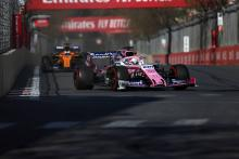 Perez was on the 'full limit' in Baku to keep faster McLarens behind