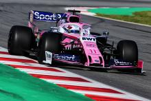 "Perez 'worried' over Racing Point's ""very bad"" Spanish GP form"