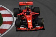 Leclerc fastest for Ferrari as Hamilton hits wall in Canada FP2