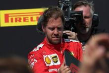 """Vettel """"absolutely right"""" to be angry about penalty - Wolff"""