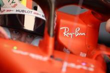 Vettel leads Ferrari 1-2 in opening German GP practice