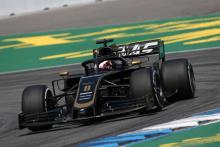Grosjean explains positives in topping F1 midfield with old spec Haas