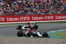 Alfa Romeo to appeal Raikkonen, Giovinazzi German GP penalties