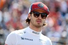 Giovinazzi happy with recent performances against Raikkonen