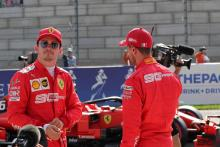 Vettel: Leclerc hasn't surprised Ferrari with wins