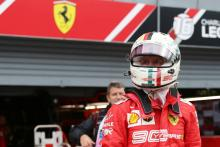 Vettel unhappy with Q3 show, Ferrari tactics
