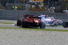 Stewards didn't consider black flag for Vettel in Italian GP