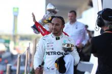 Hamilton not in a 'rush' to seal 2019 F1 title