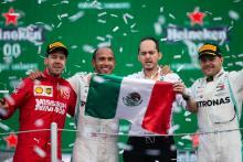 Peringkat Pembalap F1 - Grand Prix Meksiko