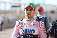 Perez hit with pit lane start for US GP
