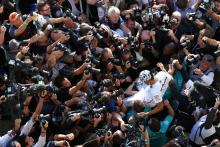 Hamilton refutes 2019 as 'easiest' F1 title