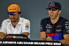 Sainz, Gasly bersiap menghadapi memo sulit untuk P6