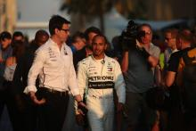 Wolff: Hamilton stepping up performances every season