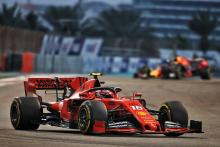 "Leclerc says Ferrari ""just not fast enough"" in Abu Dhabi"