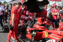 Vettel's F1 title hopes in tatters after early Suzuka retirement