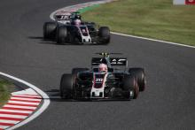 Haas celebrates double points success in Japanese GP