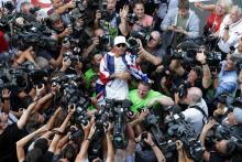 Hamilton: Finishing P9 after fightback a 'horrible way' to win title