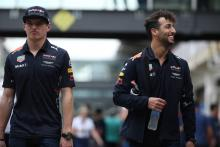 Webber: Ricciardo should focus on beating Verstappen