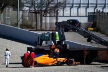 McLaren explains Alonso Friday F1 test issue