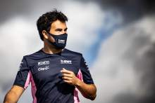 Sergio Perez (MEX) Racing Point F1 Team walks the circuit with the team.