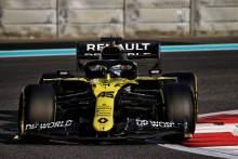 Guanyu Zhou (CHN) Renault F1 Team RS20 Test Driver.