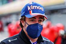 Fernando Alonso (ESP) Alpine F1 Team.