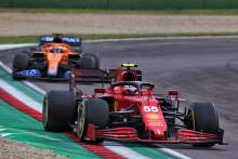 Sainz: Ferrari can be ahead of F1 rivals McLaren at some races