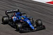 Alonso enjoys 'most comfortable' day yet with Alpine since F1 return