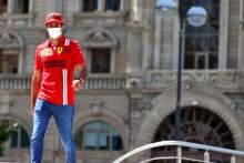 Carlos Sainz Jr (ESP) Ferrari.