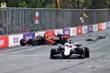 Max Verstappen (NLD) Red Bull Racing RB16B crashed out of the race.
