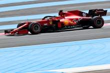 Ferrari drivers blame windy conditions for ill-handling in French GP F1 practice