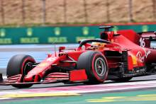 """Leclerc struggling with Ferrari's front-end """"limitation"""" in France F1 qualifying"""