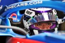 Guanyu Zhou (CHN) Alpine F1 Team RS20 Test Driver.