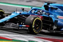Guanyu Zhou (CHN) Alpine F1 Team A521 Test Driver.