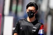 Guanyu Zhou (CHN) Alpine F1 Team Test Driver.